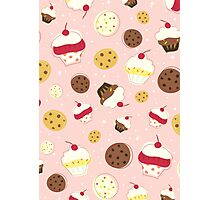 Cupcakes and Cookies Photographic Print