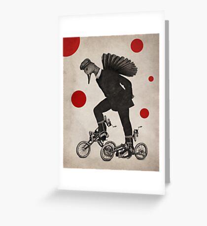 Anthropomorphic N°10 Greeting Card