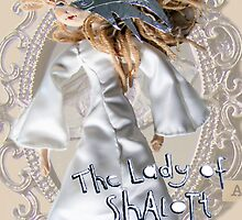 Lady Of Shalott postcard by Blackbird76