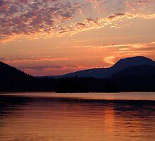 Ruby Lake Sunset by Martin Smart