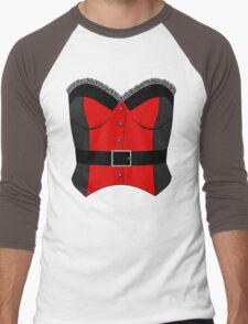 Red Corset Men's Baseball ¾ T-Shirt