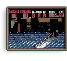 Pre-game Baseball Image #5 Canvas Print