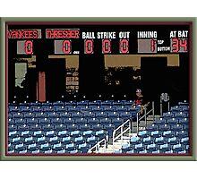 Pre-game Baseball Image #5 Photographic Print