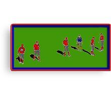 Pre-game Baseball Image #6 Canvas Print