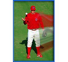 Pre-game Baseball Image #7 Photographic Print