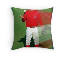 Pre-game Baseball Image #7 Throw Pillow