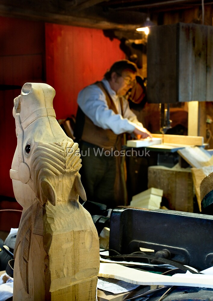 The Rocking Horse Maker by Paul Woloschuk