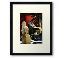 The Rocking Horse Maker Framed Print