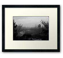 072806-23BW      A SHORTCUT THROUGH MORDOR Framed Print