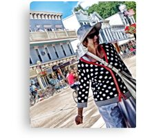 The Tourist Canvas Print