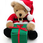 Santa bear by faithimages