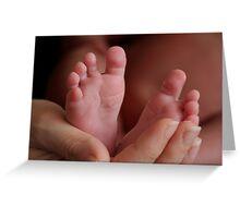 new feet Greeting Card