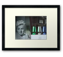 Screen Icon Framed Print