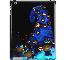Nightmare or pumpkins before christmas iPad Case/Skin