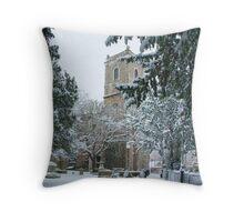 Lewisham Church Throw Pillow