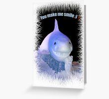 Sharky's smile Greeting Card