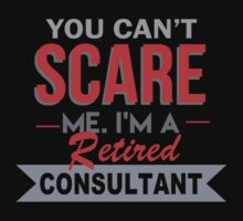 You Can't Scare Me. I'm A Retired Consultant - TShirts & Hoodies T-Shirt