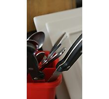 Saturday Dishes Series - Cutlery Photographic Print