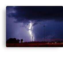 Georgia Storm Truckin' Canvas Print