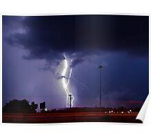 Georgia Storm Truckin' Poster