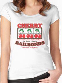 Cherry Bailbonds Women's Fitted Scoop T-Shirt