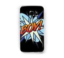 Comic Book BOY! Samsung Galaxy Case/Skin