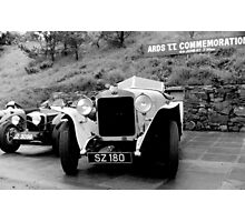 Ards TT .. Delage Photographic Print
