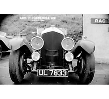 Ards TT ... Bentley ul7833 Photographic Print