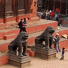 Patan, Nepal by Richard  Stanley