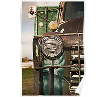 Rusty truck Poster