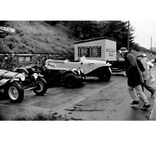 Ards TT.. The Le Mans start Photographic Print