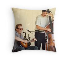 Rick Fines Throw Pillow