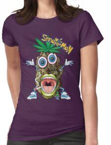 Smokemon Marijuana t shirt Womens Fitted T-Shirt