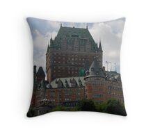Hotel Frontenac, Quebec Throw Pillow
