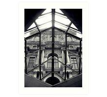 Through the Louvre Art Print