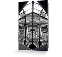 Through the Louvre Greeting Card