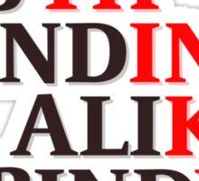 4-Word Thinking Sticker
