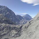 Mountainous landscape by bmg07