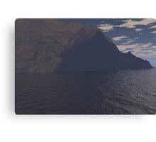 landscape in 3d Canvas Print