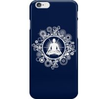 Inner Being - white silhouette iPhone Case/Skin