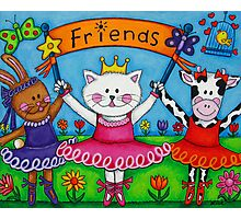 Ballerina Friends Photographic Print
