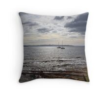 Blackmans Bay Yachts 2 Throw Pillow
