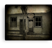 The Old Houhora Post Office Canvas Print