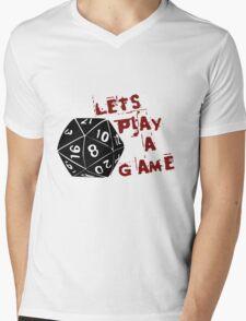 Lets play a game  Mens V-Neck T-Shirt