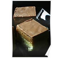 Salted Caramel Millionaire's Shortbread Poster