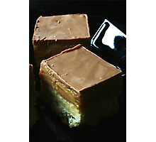 Salted Caramel Millionaire's Shortbread Photographic Print