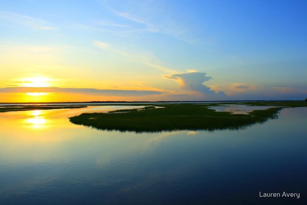 Sunset over the Horizon by Lauren Avery