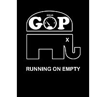 GOP -- Running on Empty Photographic Print