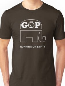 GOP -- Running on Empty Unisex T-Shirt