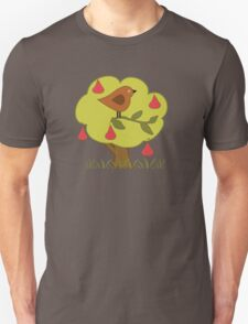 ...and a partridge in a pear tree Unisex T-Shirt
